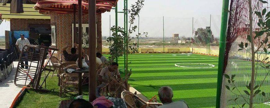 ملعب المنتزه بطريق طاميه كفر محفوظ